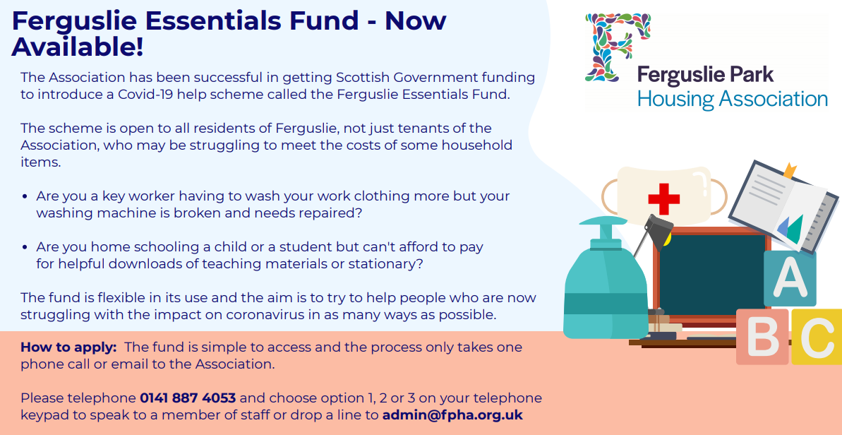 Ferguslie Essentials Fund Poster